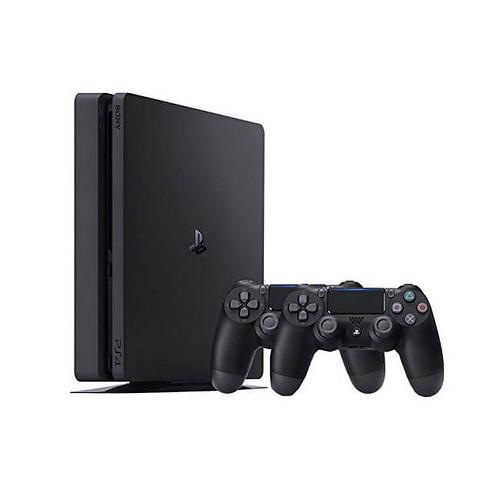 PS4 SLIM + 2 mandos disponible por 238€