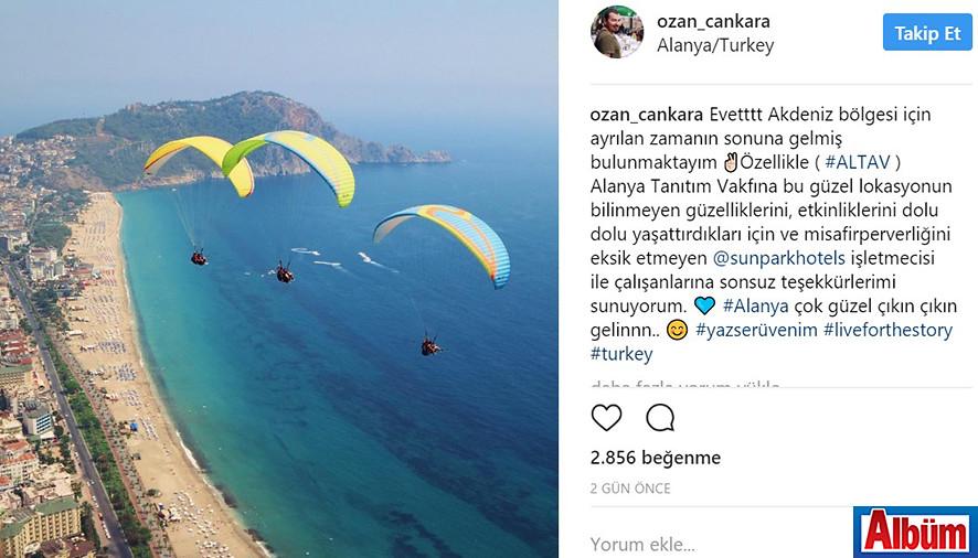Canon Türkiye fotoğrafçılarından Ozan Cankara Alanya'daydı 5