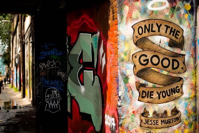 Graffiti Alley,Toronto
