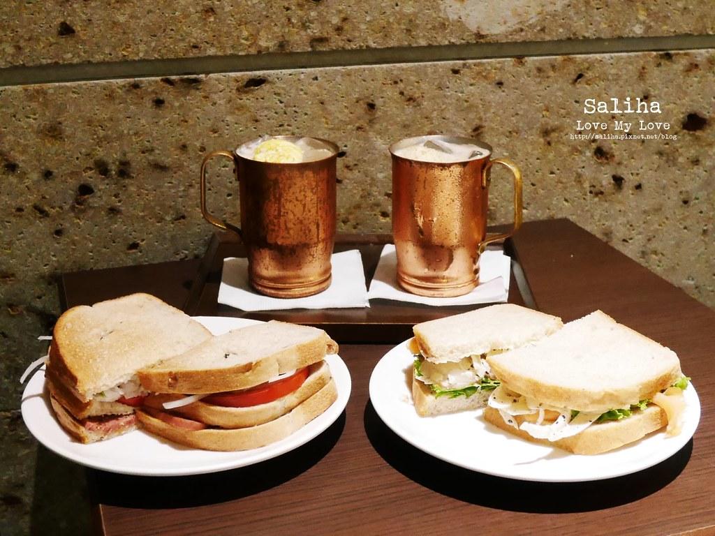 台北東區忠孝敦化站附近不限時餐廳美食下午茶推薦上島咖啡 (2)