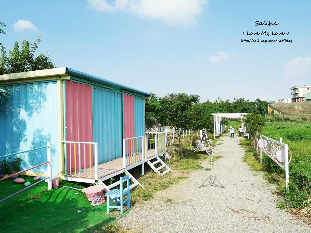 台中沙鹿區旅遊一日遊景點推薦好好小館彩色貨櫃屋 (16)