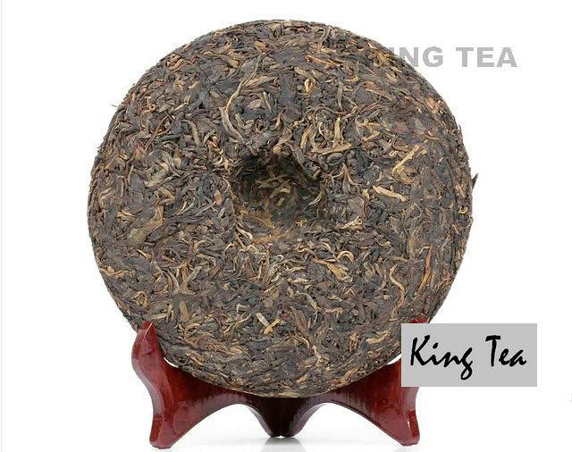 Free Shipping 2005 ShuangJiang MengKu Spring Bud Beeng Cake Bing 400g China YunNan Chinese Organic Puer Puerh Raw Tea Sheng Cha