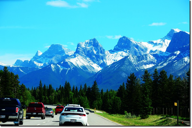 一號公路(Trans-Canada HwyAB-1)沿途雪景 6