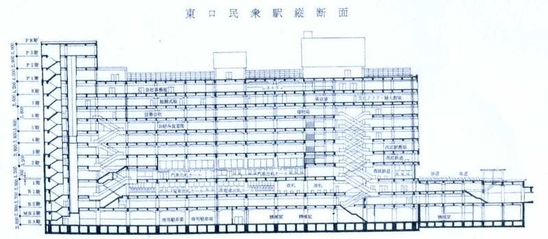 西武鉄道新宿駅 ルミネ(マイシティ)乗り入れ計画図面 (10)