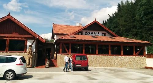 Ruzomberok, Eslovaquia | Motel Vlčí Dvor | Exterior del restaurante