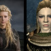 Lagertha Comparison