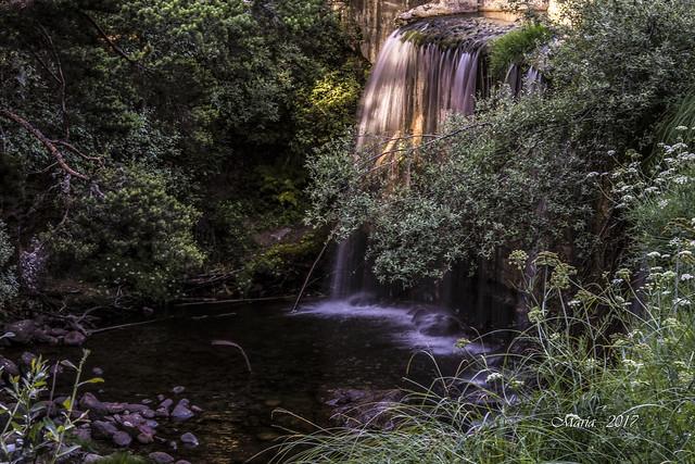 El último rayo de sol.  (Parque natural sierra de Guadarrama)