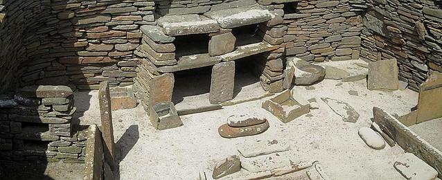 Stone Dresser, Skara Brae, Orkney