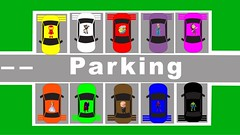 Learn-Colors-Iron-Man-Superman-And-Others-Monster-Trucks-Get-Into-Car-Parking-Video-For-Kids