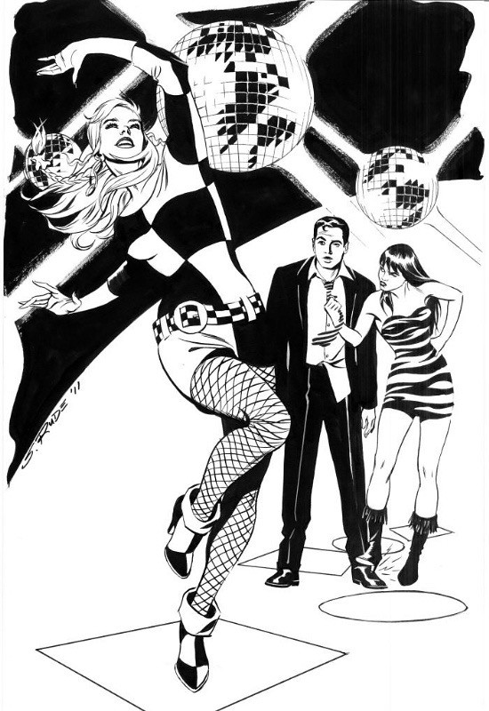 Gwen Stacy dancing