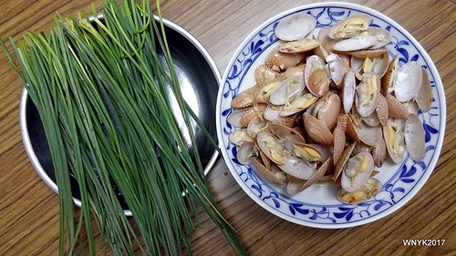 Chives and Clams