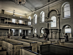 Old South Meeting House Interior