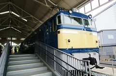 EF65 locomotive at the Kyoto Railway Museum 8530