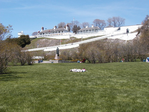 Fort Mackinac. From Mackinac Island with the Ghost of Magdelaine La Framboise