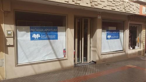 Nueva sede de Papelería Librería San Sebastián