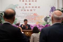 07.13 巴拉圭共和國卡提斯總統於國宴致詞,並舉杯向總統致意
