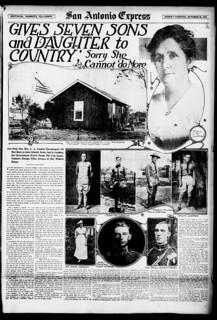 1918.10.20 San Antonio Express