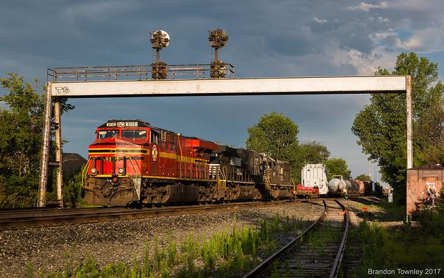 Norfolk Southern 8114 at CP-146