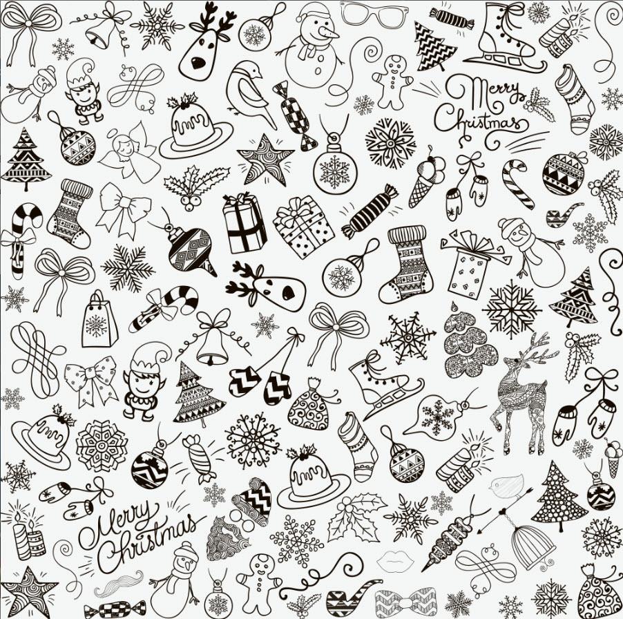 pattern noel - Pattern Noel Vector