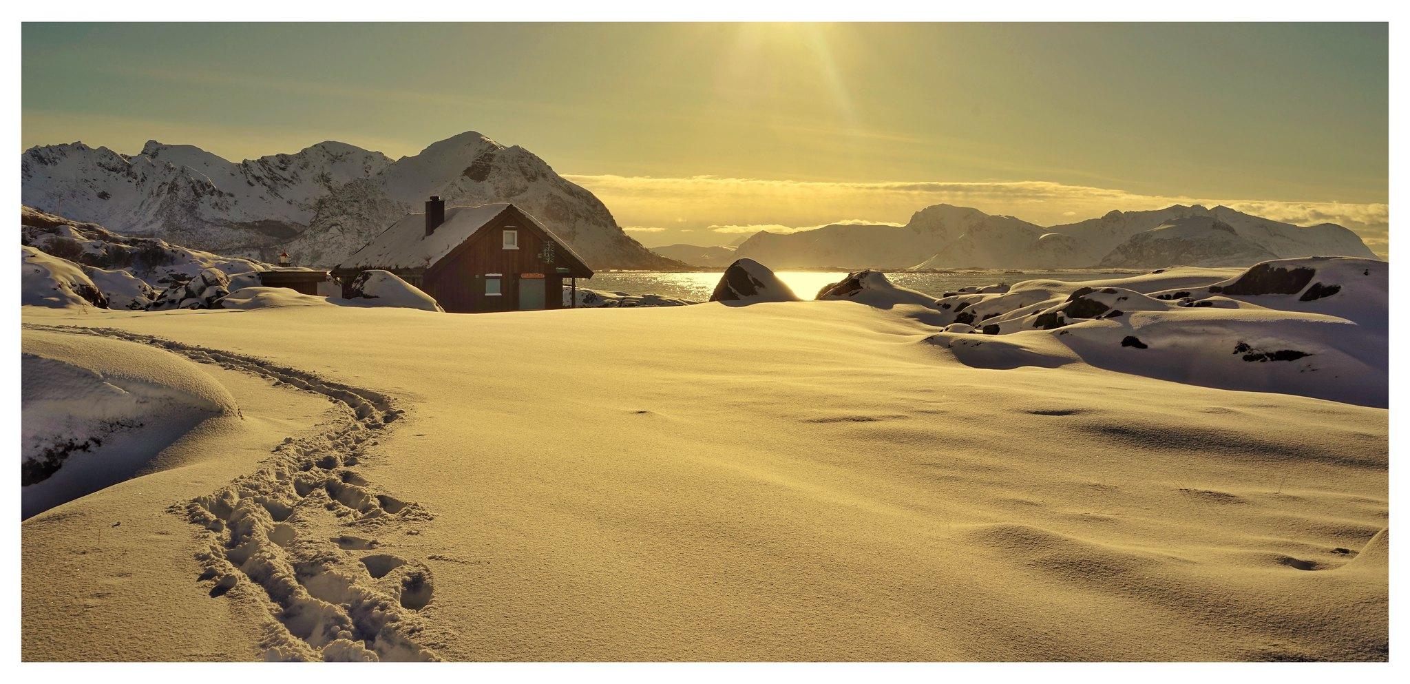 Brenna auf den Lofoten