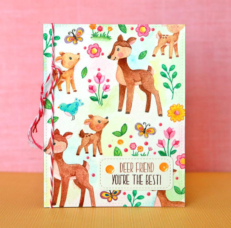 Deer Friend You're the Best
