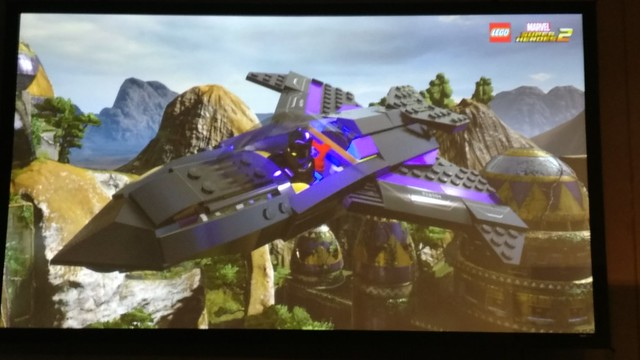 LEGO Marvel Super Heroes 2 SDCC 2017 Black Panther Jet