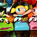 TM Powerpuff Girls RESIN x 2 & Plastic Prototype Set w Logos