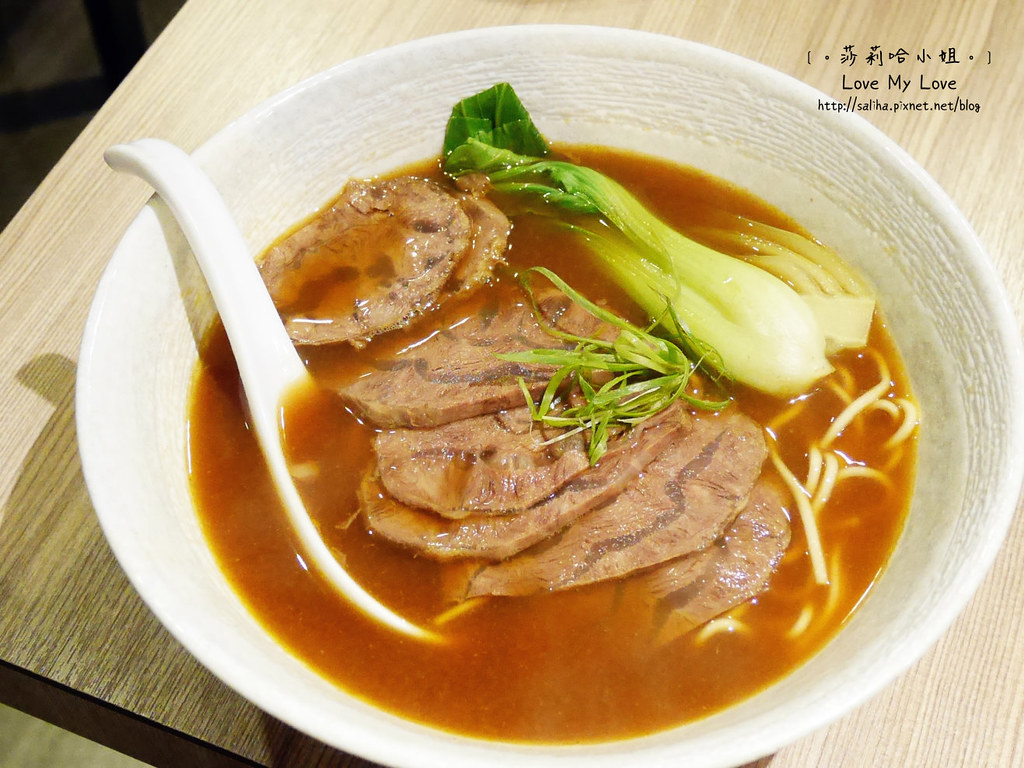 台北松山區南京復興站附近餐廳十里安牛肉麵中式料理
