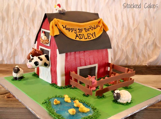 Cake from Stacked Cakes-by Jennifer and Lamay