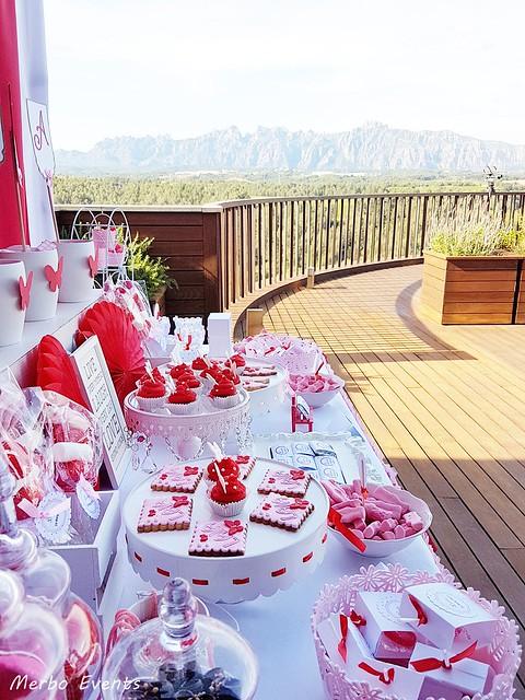 Mesa dulce comunión Merbo events