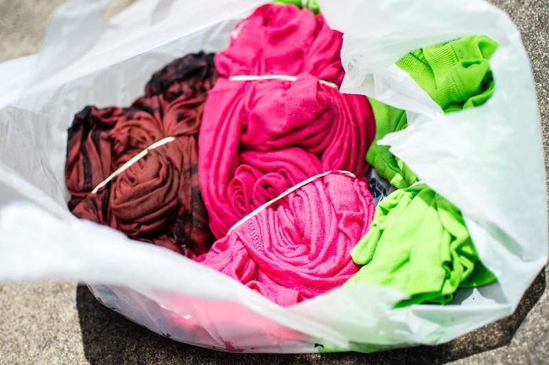 diy bleach tie dye