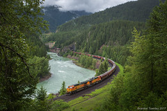 BNSF near West Glacier, MT