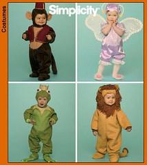 Simplicity 4910 Monkey Costume