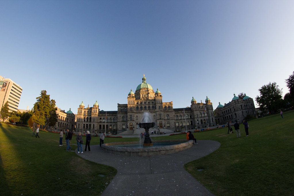 Exterior of British Columbia Parliament | Victoria, BC
