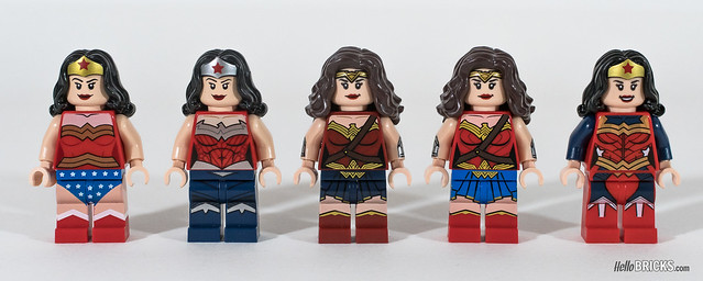 Review LEGO DC Comics Super Heroes Le Super Guide avec Wonder Woman