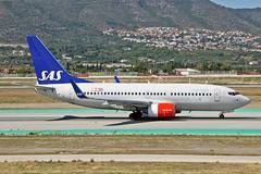 LN-TUM Boeing 737-705 SAS Norge AGP 13-06-17