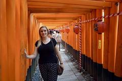 Torii-Weg am Fushimi Inari-Taisha Schrein