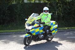 BMW motorbike of Cleveland Police