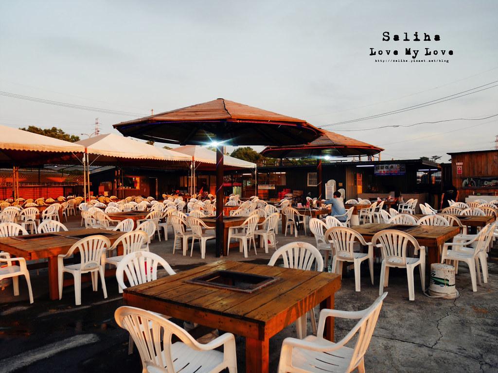 台中沙鹿區景觀餐廳餐廳推薦蠔膽你來露天燒烤吃到飽 (2)