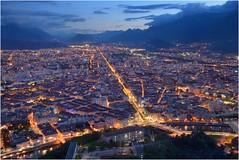 Grenoble à l'heure bleue, vers périphérie :copyright: Bernard Grua