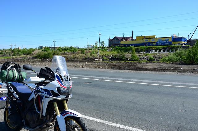 Russia, riding south to Kandalaksha 2