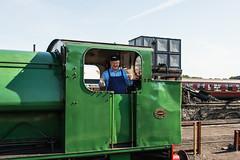 Bo'ness & Kinneil Railway - NCB (060ST) Engine No 9 Engineer 2