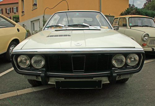 Renault 17 face