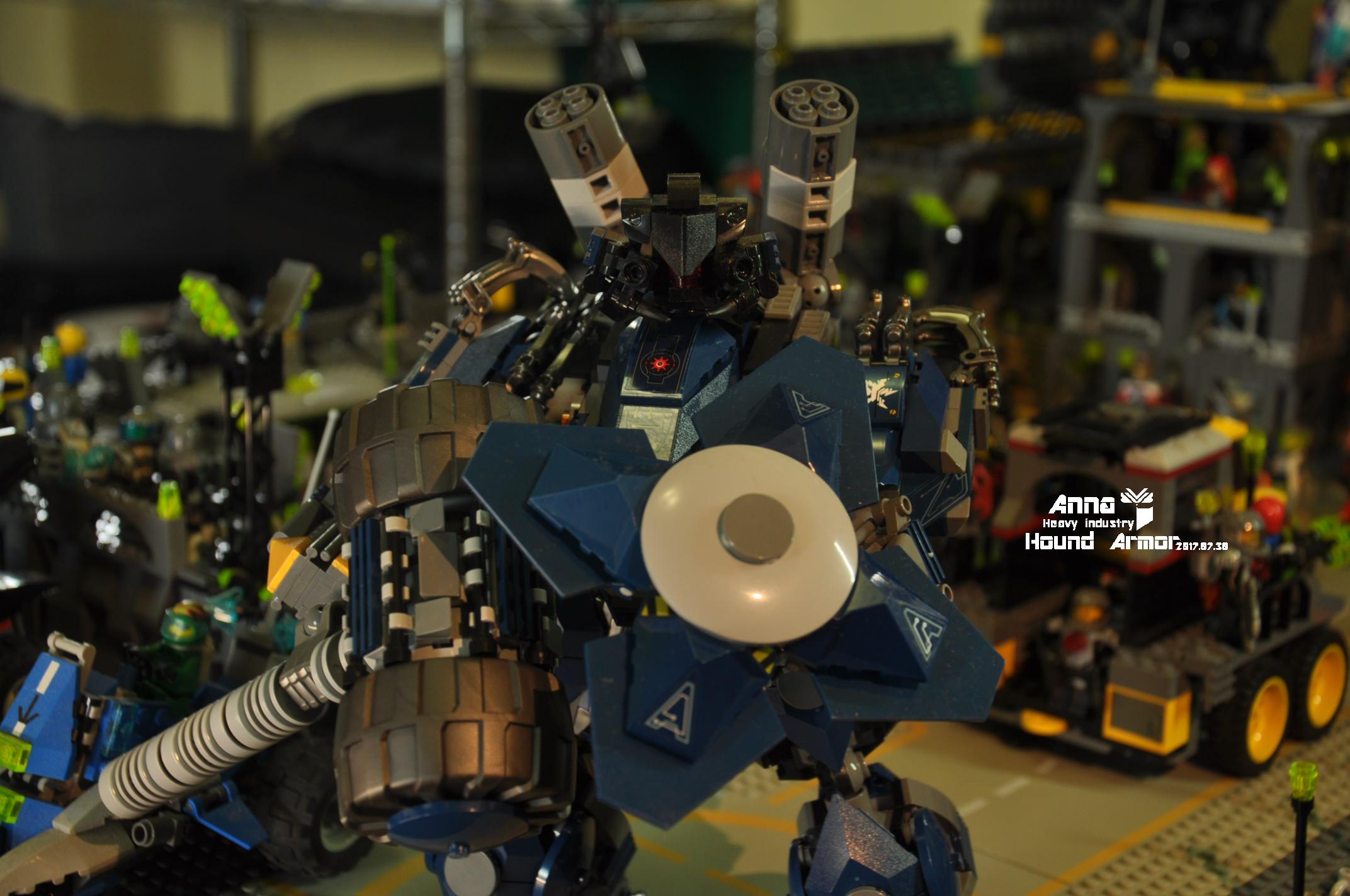 【2017夏季賽】忍者機甲大賽-B組-獵犬機甲- Hound armor