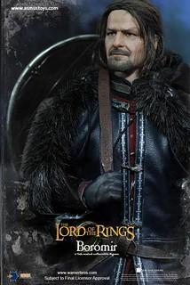 剛鐸最英勇的男子漢!!Asmus Toys 魔戒首部曲:魔戒現身【波羅莫】Boromir 1/6 比例人偶作品
