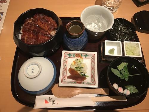 Eel meal at Bincho Ginza
