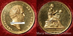 Astronomer Maria Mitchell's Gold Medal