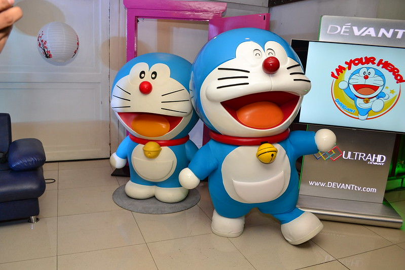 Our Favorite Cat-Type Robot from the future, Doraemon!