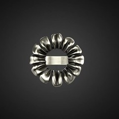 Pared-Down Daisy Ring