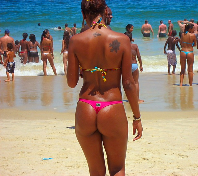 Beautiful brown skin Brazilian babes